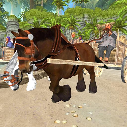 Horse Cart Racing Simulator:Defeat the -