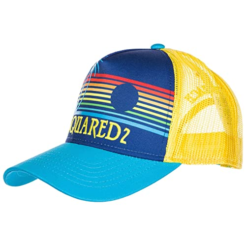 Dsquared2 cappello berretto regolabile uomo in cotone Hawaiian Rocker  baseball b 509880cb0a56