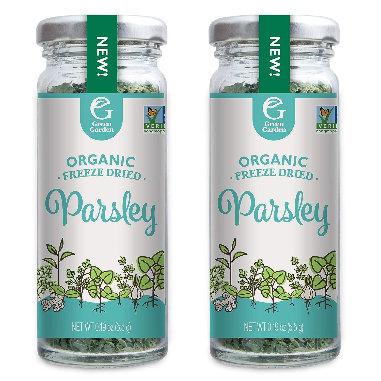 Green Garden Organic Freeze-Dried Parsley, 0.19 Ounces, 2-Pack
