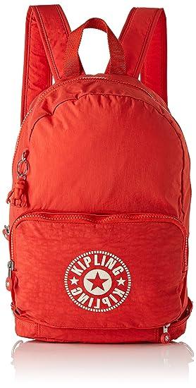 Kipling CLASSIC NIMAN FOLD Mochila tipo casual, 49 cm, 21 liters, Rojo (Active Red NC): Amazon.es: Equipaje