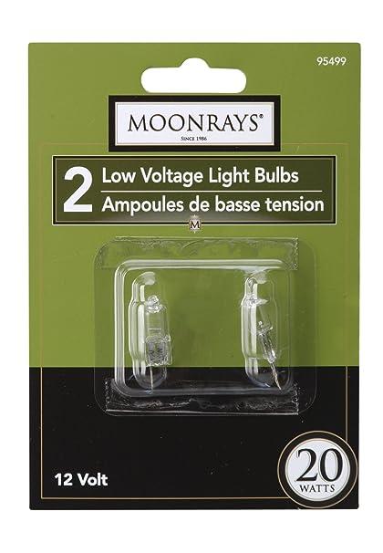 Moonrays 95499 20-watt Halogen Bi-Pin Replacements, 2-Pack