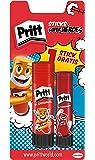 Pritt - Pack 2 Barras adhesivas, 22 g + 11 g