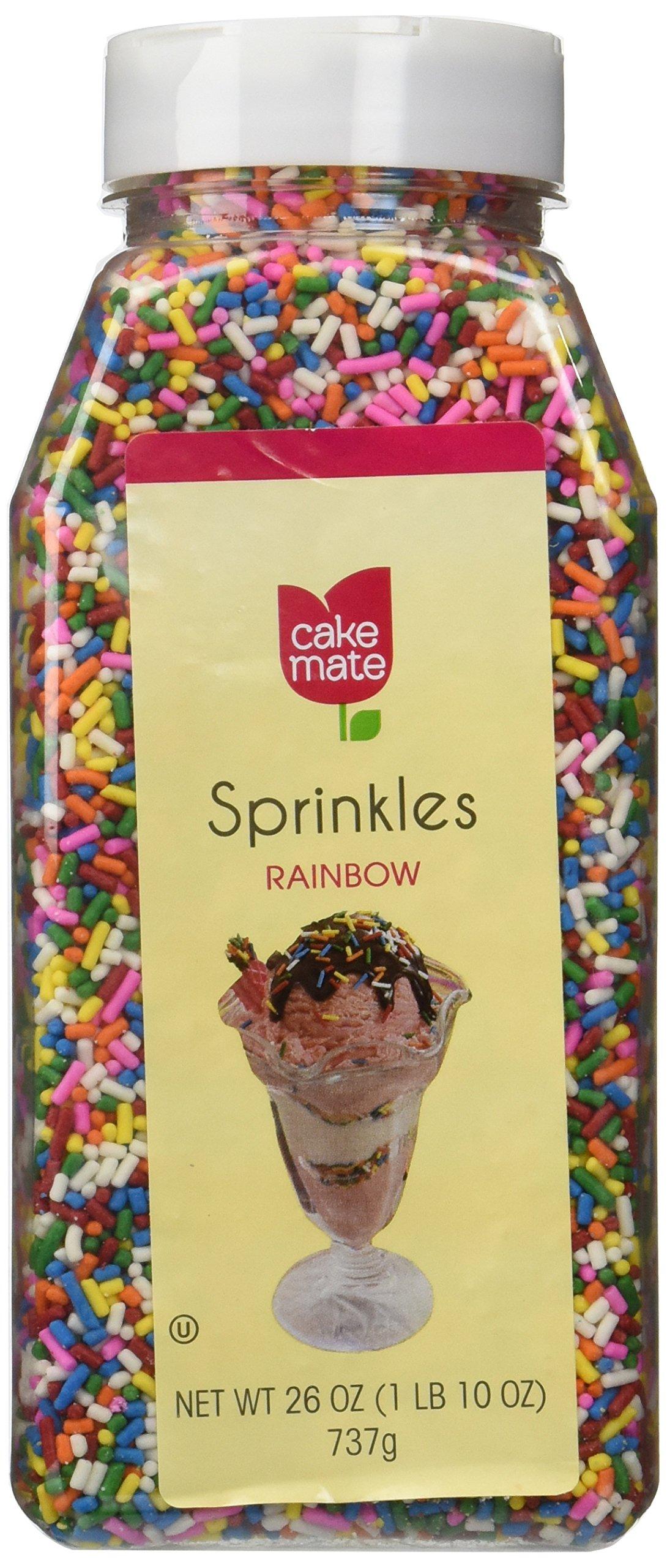Cake Mate Sprinkles Chocolate Flavored 26 Oz: Amazon.com