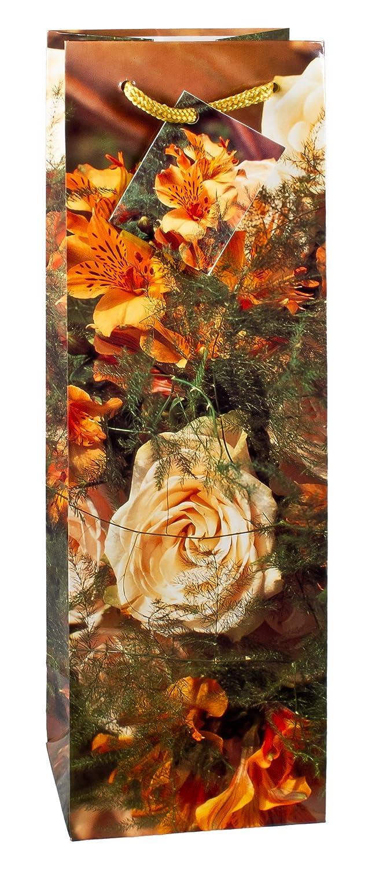 TSI 84295 - Bolsas de regalo para botellas decoradas con rosas y con motivos veraniegos, 6 unidades de cada modelo (pack de 12): Amazon.es: Oficina y ...