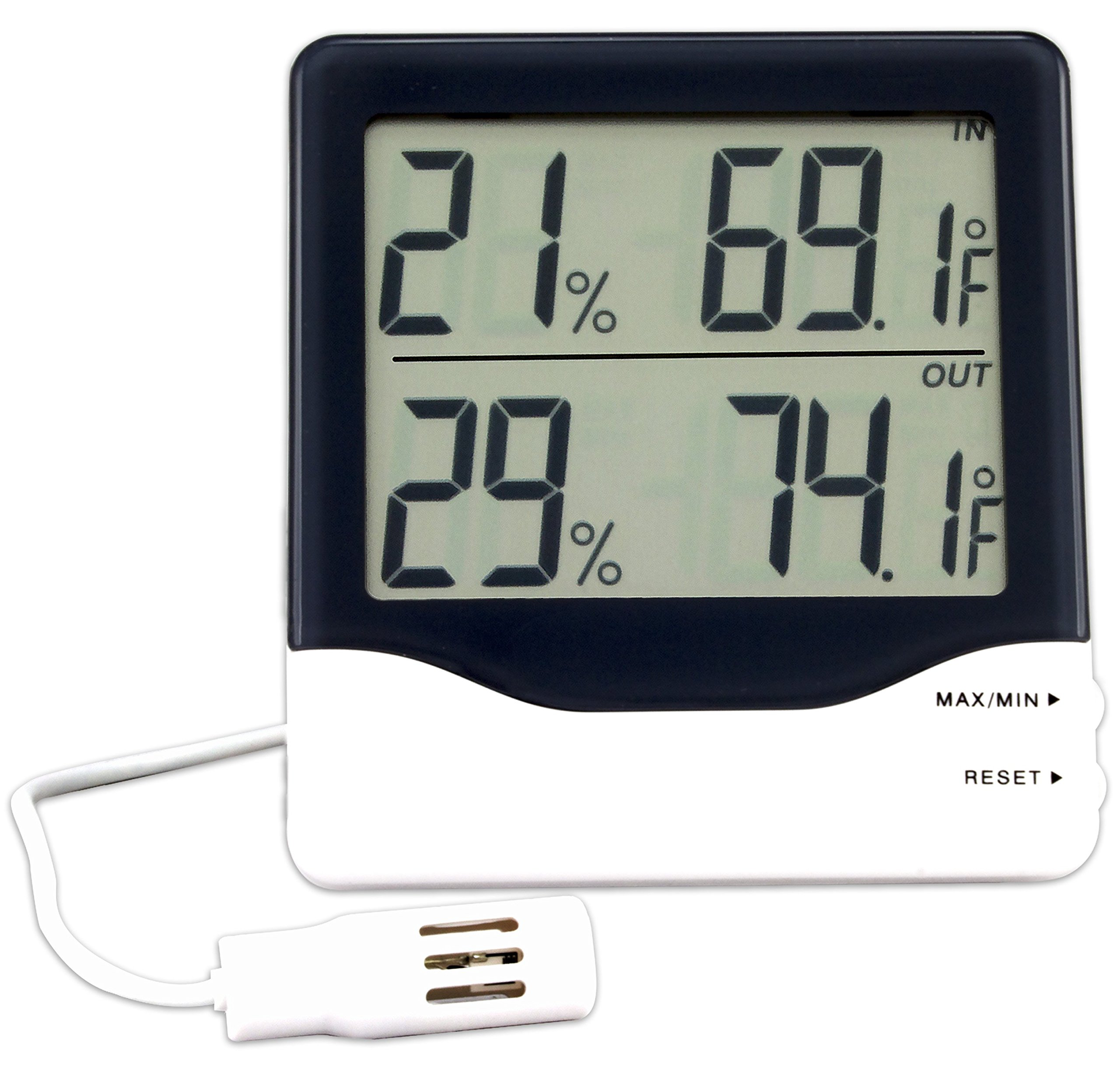 La Crosse Technology 30.5013 Digital Thermo-Hygrometer with Wired probe by La Crosse Technology