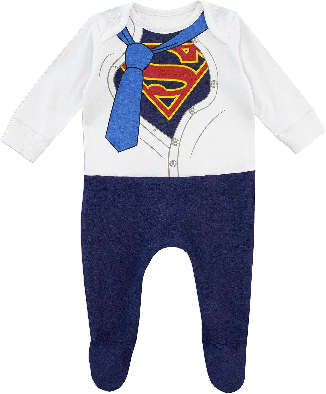DC Comics Baby Jungen Superman Schlafstrampler