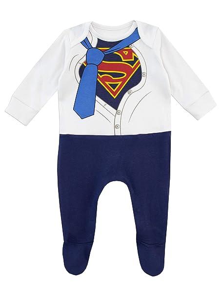 2f59903d1 DC Comics Pijama Entera para Niños Bebés Superman: Amazon.es: Ropa y  accesorios