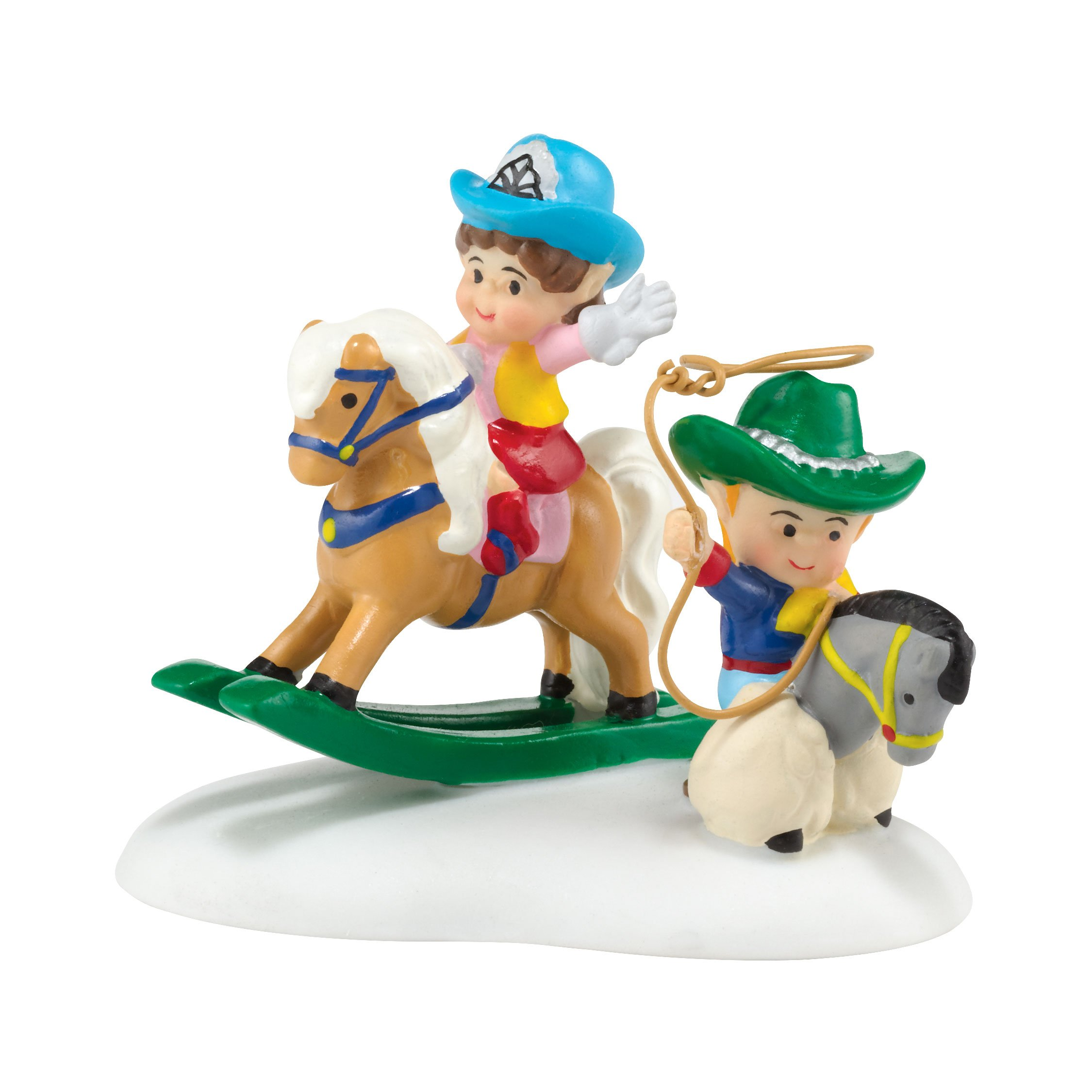 Department 56 North Pole Village Cowboy Kids Accessory, 1.57 inch