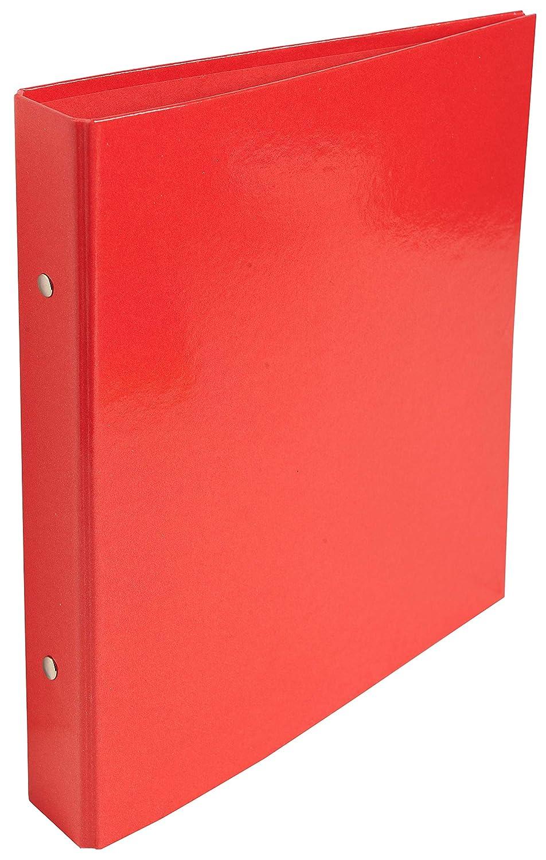 Rosso 23x21 cm Exacompta 525E Cartelle ad Anelli