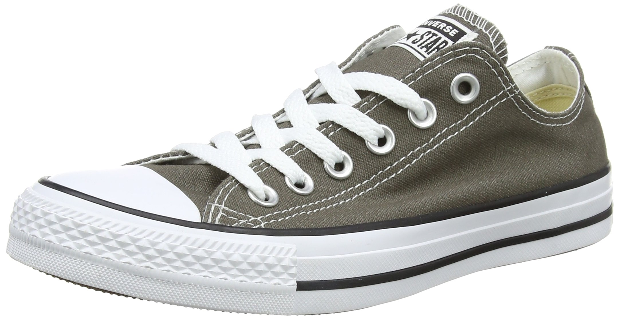 Converse Unisex Chuck Taylor All Star Low Top Charcoal Sneakers - 13 D(M) US by Converse