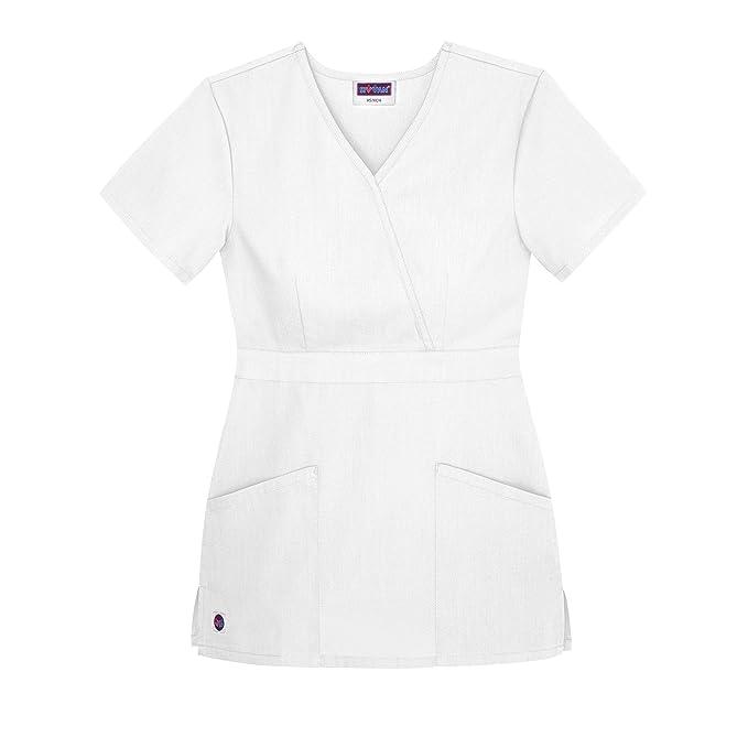 Parte Superiore Camice Sivvan Mediche Da Donna Uniformi Infermiera UVMpSz