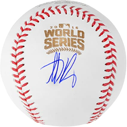 40321aeb3fb Anthony Rizzo Chicago Cubs Autographed 2016 MLB World Series Baseball -  Fanatics Authentic Certified