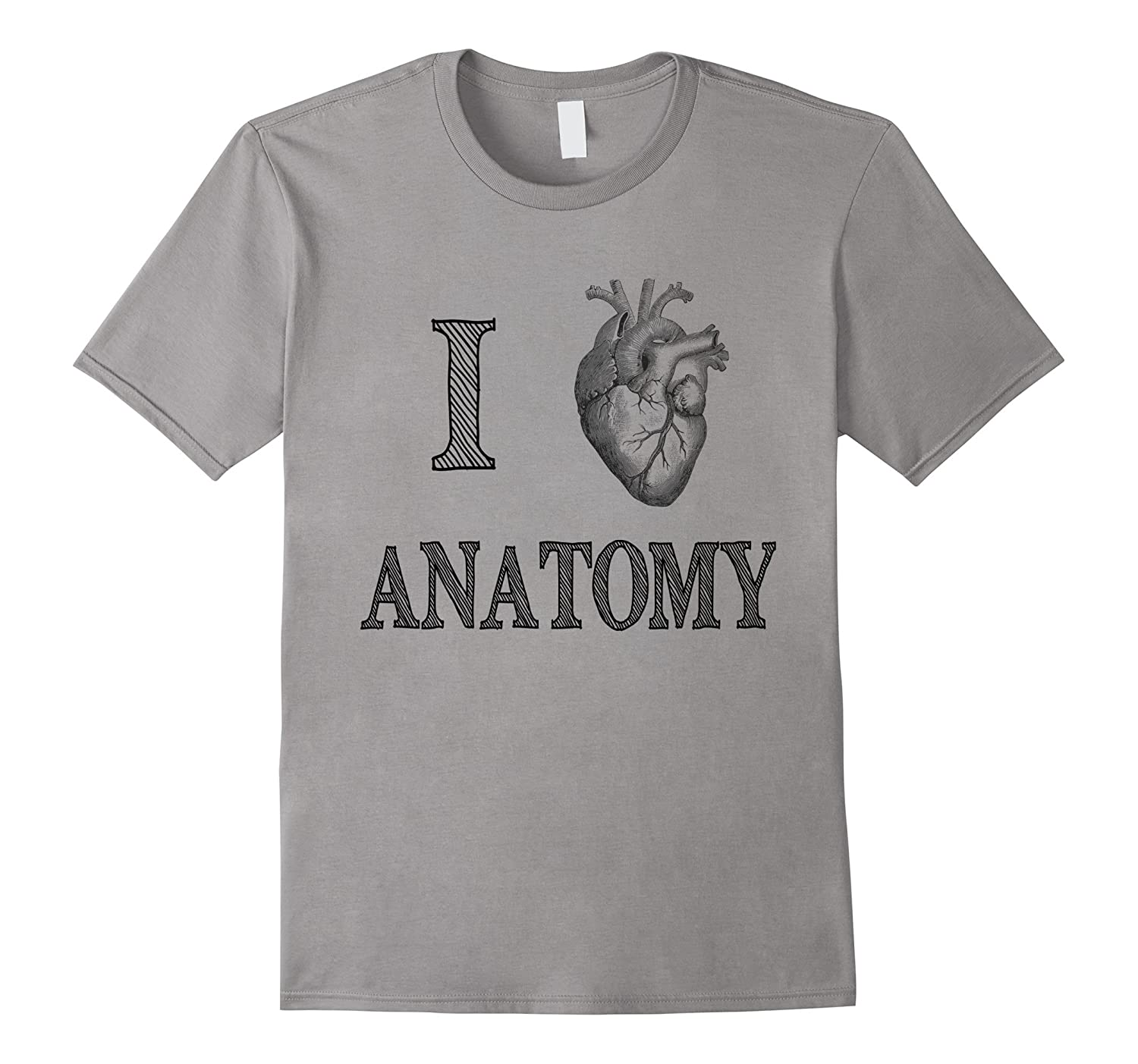 I Love Anatomy with Medical Anatomical Heart T-Shirt-TH
