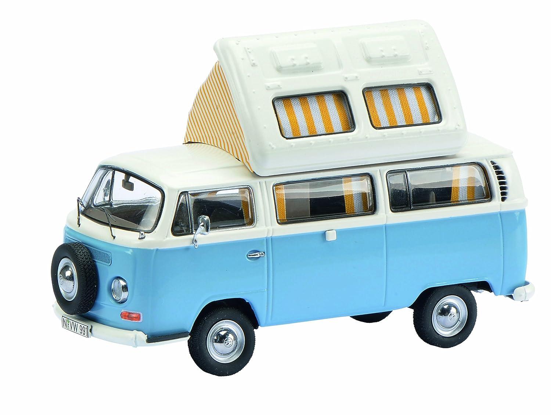 Schuco Dickie 450348600 - Volkswagen T2 A Camper, Scale 1