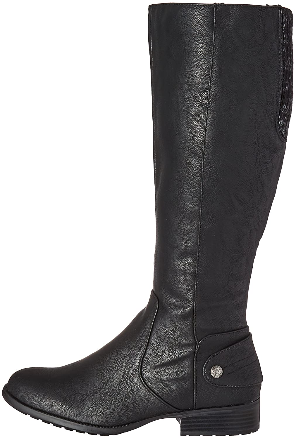 LifeStride Women's Xandy Riding B(M) Boot B01DV999NU 9 B(M) Riding US|Black 3a4228