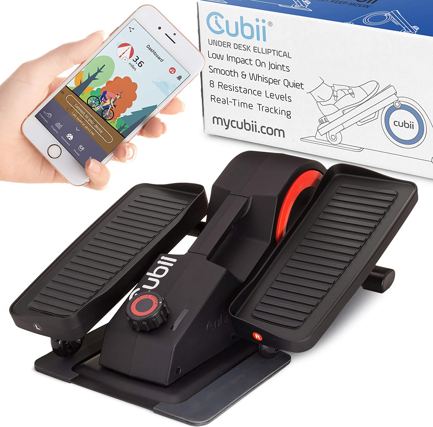 best compact elliptical: Cubii Pro - Seated Under-Desk Elliptical