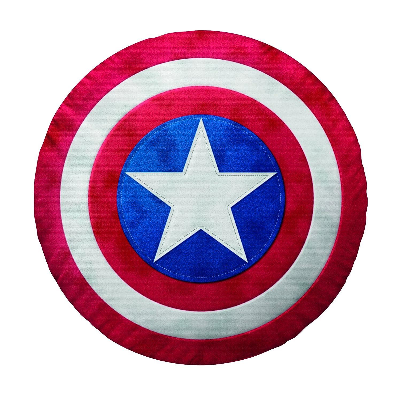 Bassetti 9255333 Captain America cojín Escudo Color Rojo ...