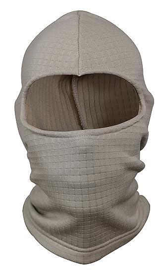 Amazon.com  Tru-Spec Cold Weather Grid Fleece Balaclava - SAND  Clothing 94af8abeadb