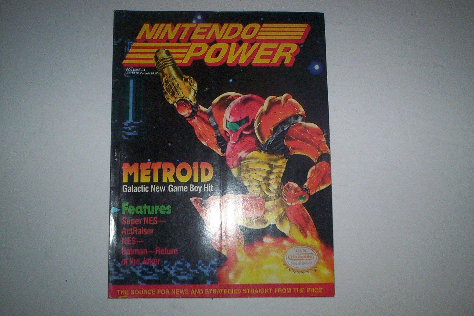 Official Nintendo Metroid (Nintendo Power, Vol. 31): Amazon ...