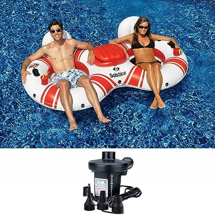Amazon.com: Solsticio superchill 2-en-1 Tubo Duo/de agua ...