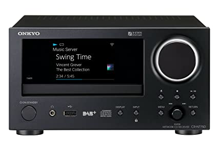 Onkyo CR-N775D Network CD Receiver Mini Hi-Fi System: Amazon