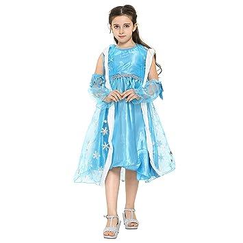 Katara - Disfraz de Elsa, Reina de las Nieves de Frozen con capa ...