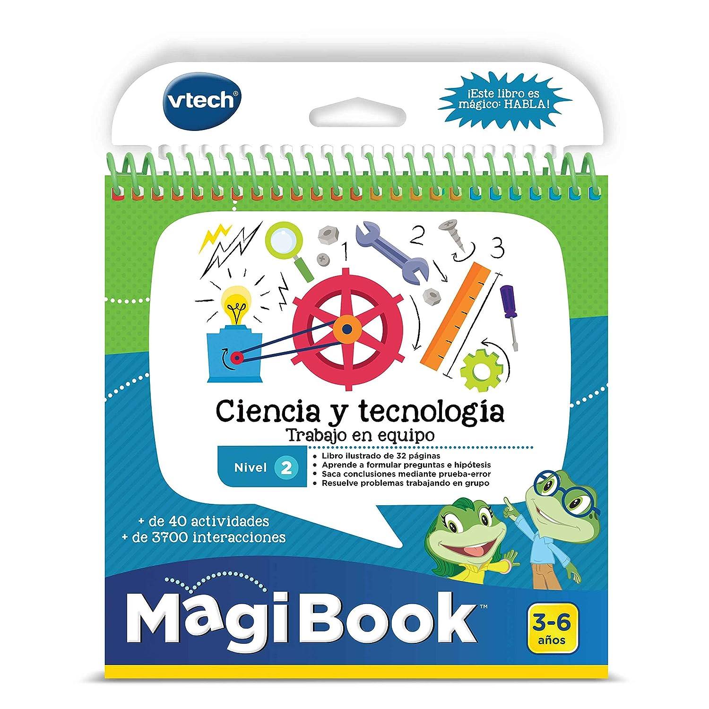 VTech - Libro aprende Ciencia y Tecnología Stem-MagiBook (80-480922): Amazon.es: Juguetes y juegos
