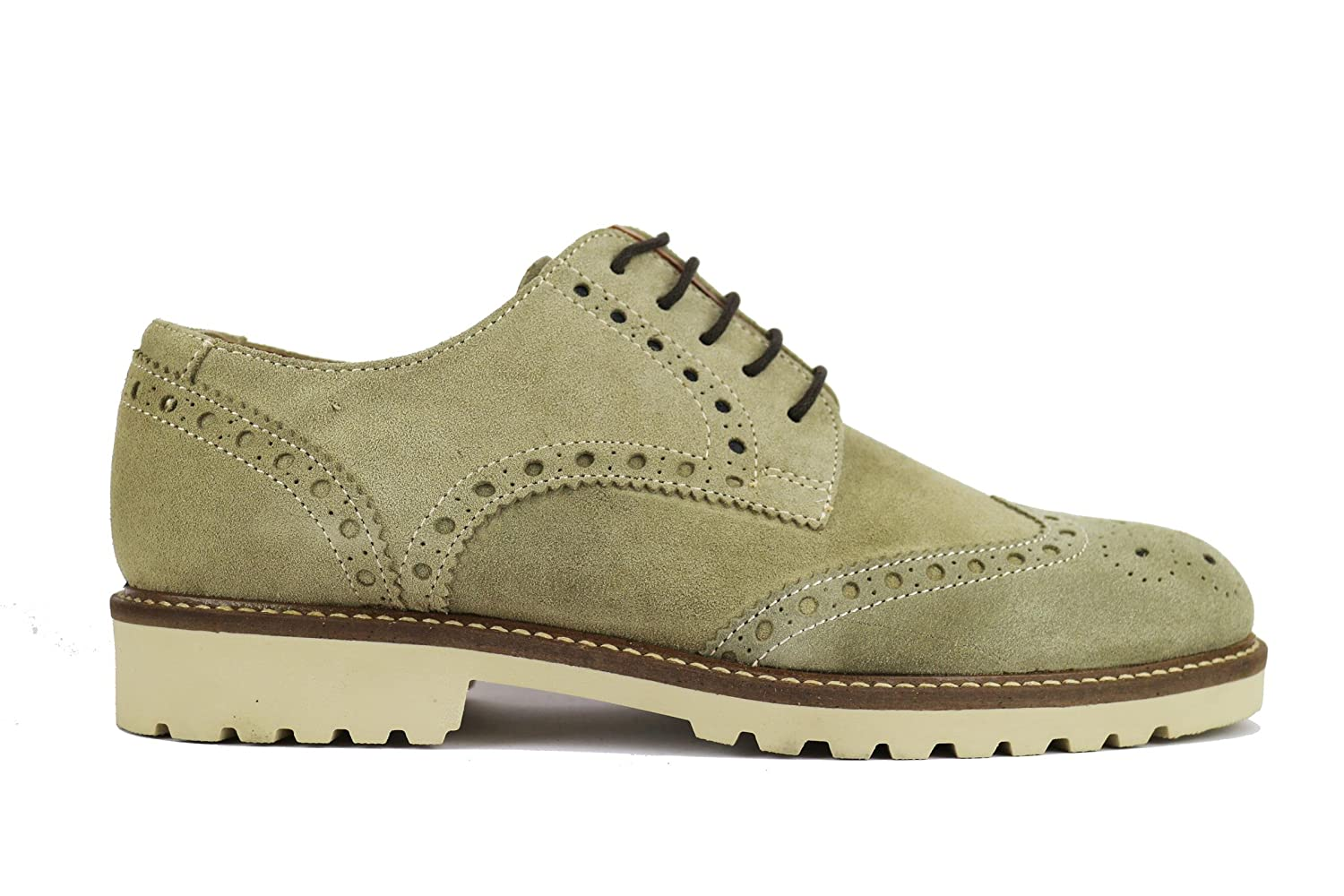 RUE 51 Oxford-shoes / Elegant Man Suede (13 US / 46 EU, Beige)