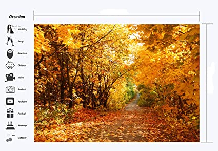 7x10 FT Leaves Vinyl Photography Backdrop,Botanic Foliage Leaves Pattern Garden Theme Nostalgic Autumn Motifs Background for Photo Backdrop Baby Newborn Photo Studio Props