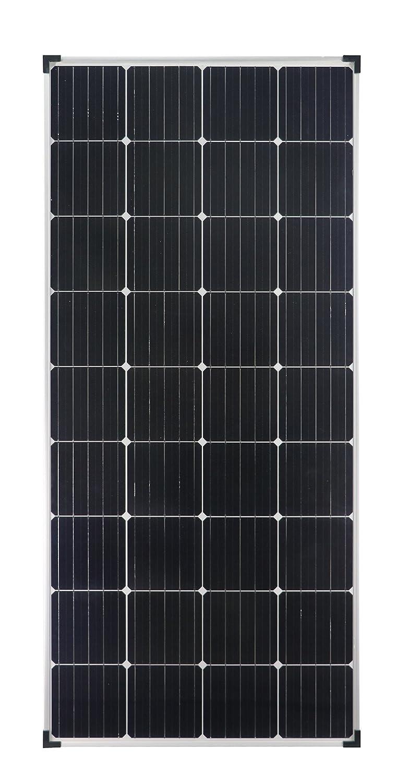 enjoysolar® monokristallin 150Watt 12V modulo solare pannello solare Mono 150W ideale per giardino camper caravan SolarV
