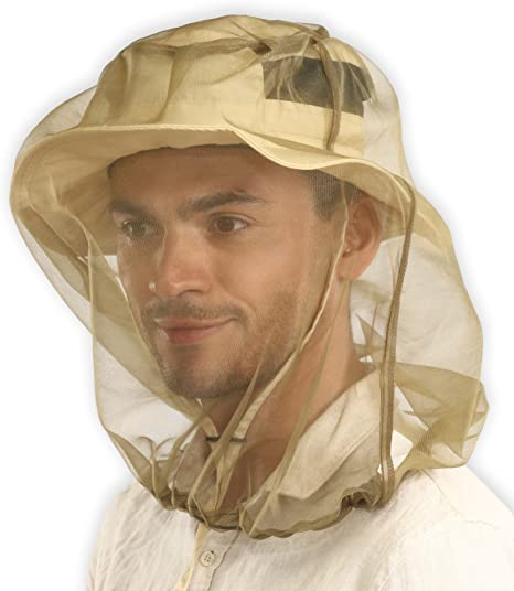 Face Protection Insect Net Cover Mosquito Gnat Fly Screen Head Fine Mesh Net