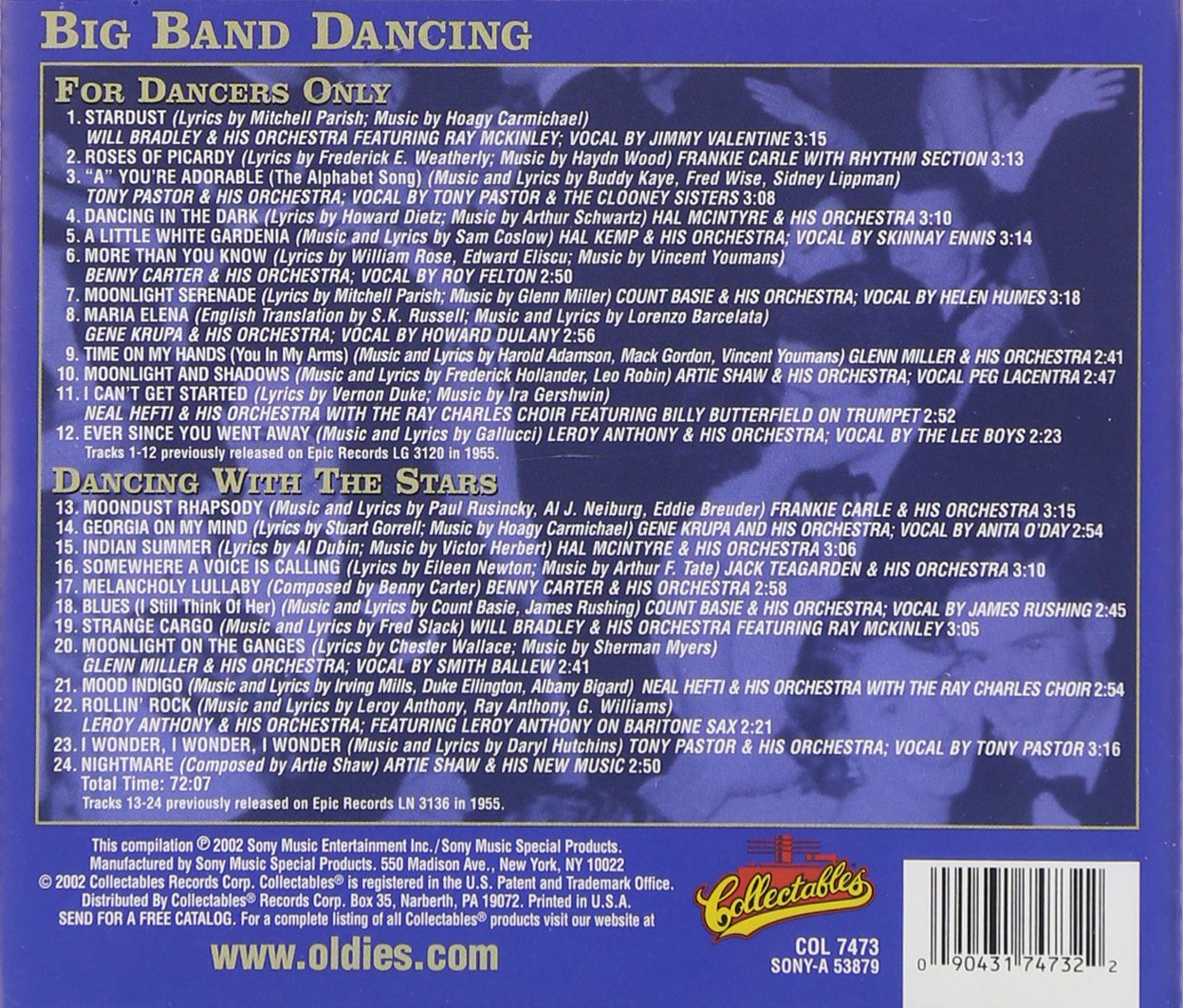 VARIOUS ARTISTS - For Dancers Only / Dancing with the Stars - Amazon.com Music