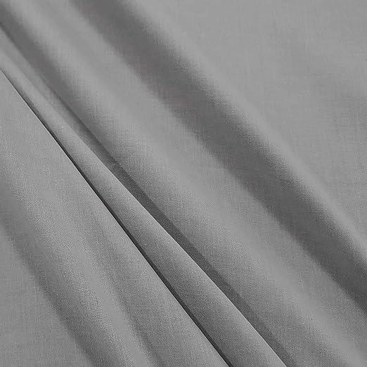 Metro plástico Tela de algodón Bandera Paño Gris 100% algodón ...