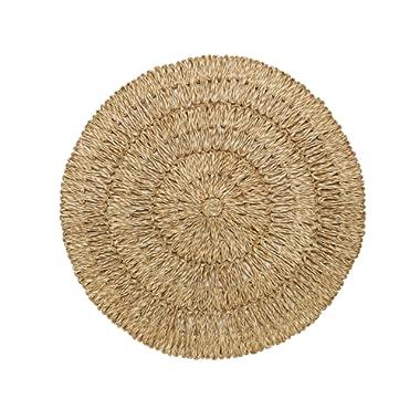 Juliska Straw Loop Round Placemat Natural