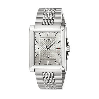 4980d160333 Gucci G-Timeless Rectangle YA138403  Amazon.co.uk  Watches