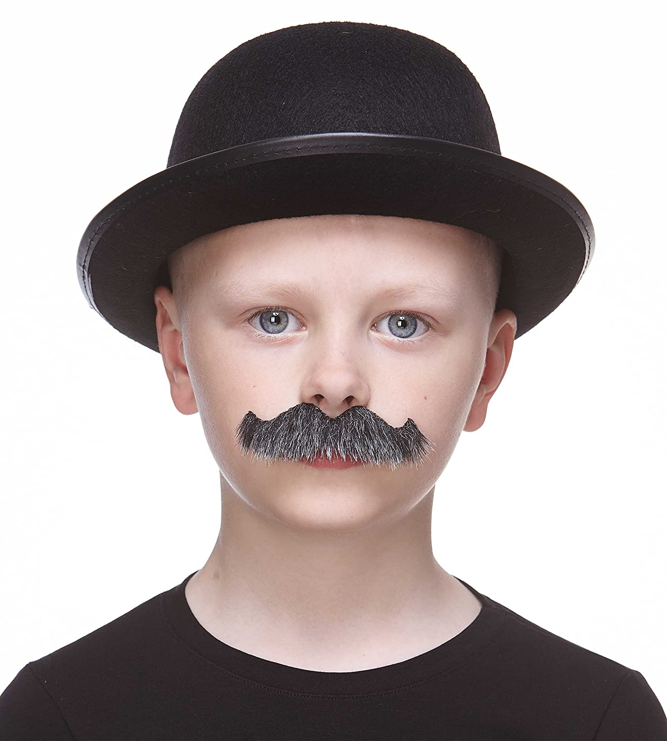 Mustaches Fake Mustache Self Adhesive Costume Accessory for Kids Novelty Small Rocking Grandpas False Facial Hair