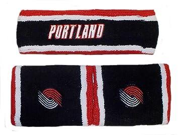 712e09b794fc4 adidas Portland Trailblazers Knit Head and Wristband Set H270Z ...