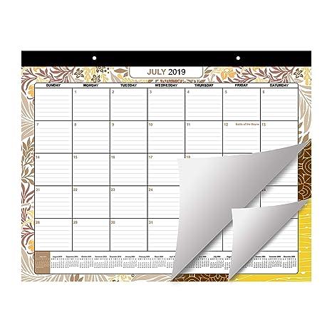 Calendario Mensile Settembre 2020.Planner Settimanale Scrivania 2019 2020 Di Belle Vous
