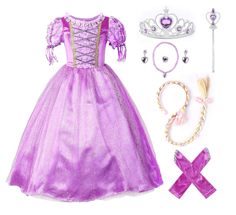 JerrisApparel New Princess Rapunzel Party Dress Costume