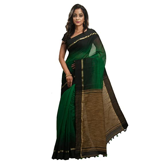 873cf19ba9228f Image Unavailable. Image not available for. Colour  Avik Creations Silk  Cotton Saree with Blouse Piece ...
