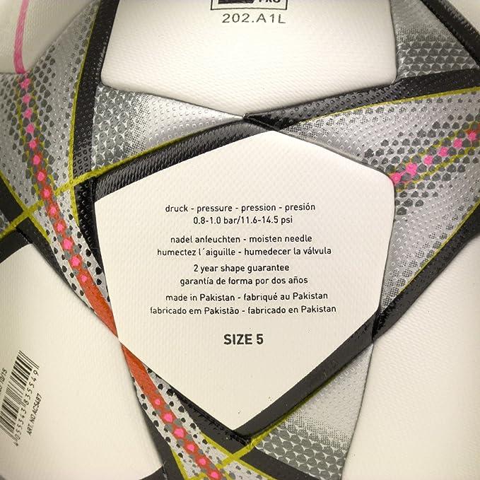 adidas Performance Ball Finale Milano OMB Balón, Hombre, Blanco ...