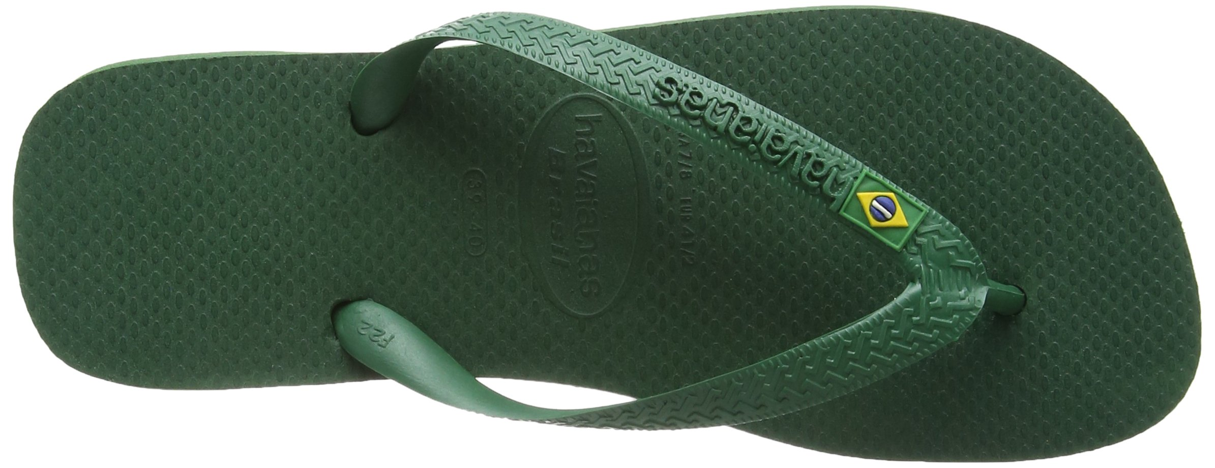Havaianas Brasil, Unisex Adult's Flip Flops, Green (Brasil Amazonia), 3/4 UK (37/38EU) (35/36 BR) by Havaianas (Image #9)