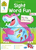 School Zone - Sight Word Fun Workbook - 64 Pages, Ages 6 to 7, 1st Grade, Word Recognition, Spelling, Context Clues…