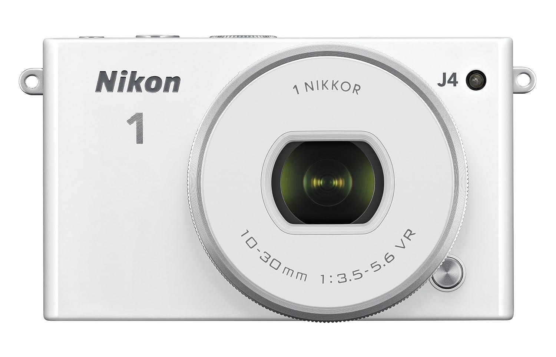 Nikon J4 18.4 MP Digital Camera with NIKKOR 10-30mm Lens - White   B00KBC1CPY