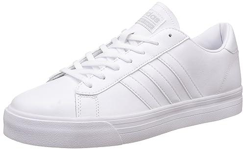 Adidas Cloudfoam Super Daily, Zapatillas de Deporte para Hombre, Blanco (Ftwbla/Ftwbla/Plamat 000), 46 EU