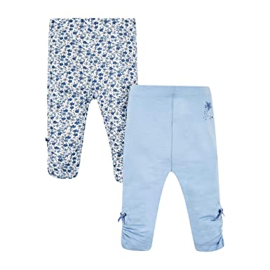 704addf34a Mothercare Baby Girls' LeggingsBlueNewbornsize50 Pack 2 SVGzqUMp