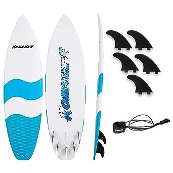 Komsurf Fiberglass Funboard Surfboard