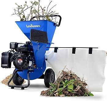 Landworks Super Heavy Duty Chipper Shredder for Composting
