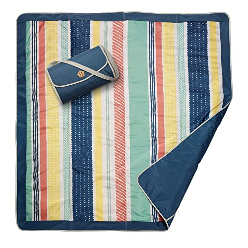 JJ Cole Outdoor Blanket, Peruvian Stripe, 5' x 5'