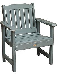 Highwood Lehigh Garden Chair, Coastal Teak